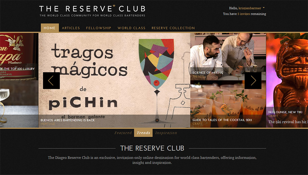 Project: The Reserve Club
